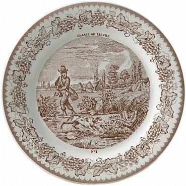 Тарелка для сладостей LA CHASSE №1 1шт