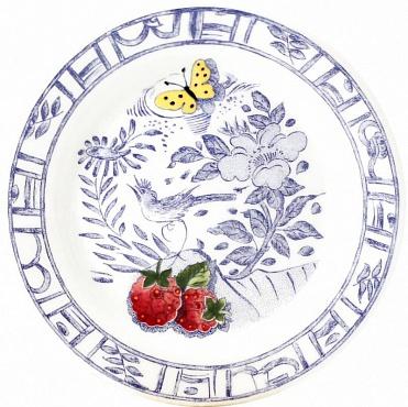 Тарелки для сладостей OISEAU BLEU – FRUITS 2шт