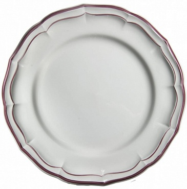 Тарелки FILET COULEUR розовый 4шт