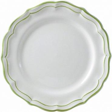 Тарелки десертные FILET COULEUR зеленый 4шт