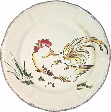 Тарелка десертная GRANDS OISEAUX Coq Nagasaki 1шт