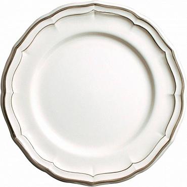 Тарелки FILET COULEUR коричневый 4шт