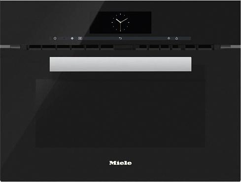 Духовой шкаф с СВЧ H6800BM OBSW черный обсидиан