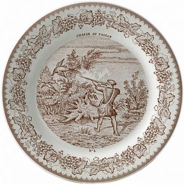 Тарелка для сладостей LA CHASSE №2 1шт