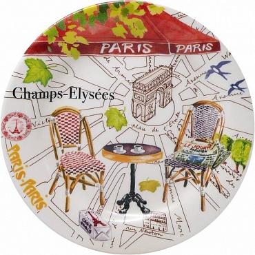 Тарелки для канапе PARIS.PARIS 4шт