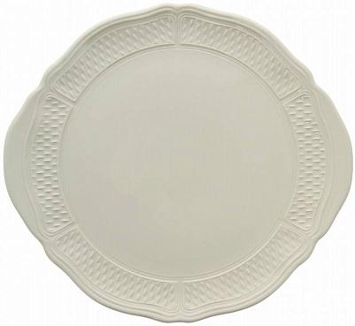 Блюдо для пирожных и тортов PONT AUX CHOUX blanc