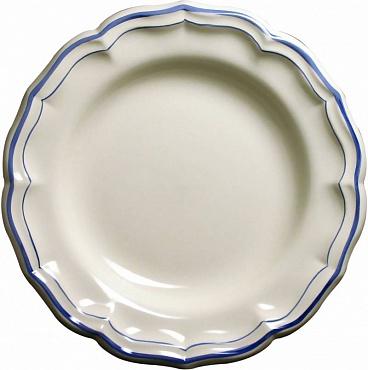 Блюдо круглое глубокое FILET COULEUR синий