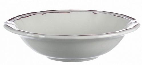 Тарелки для супа FILET COULEUR розовый 4шт