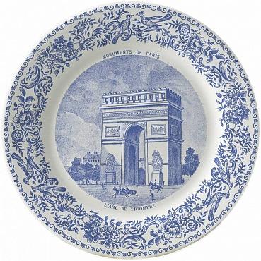 Тарелка для сладостей DE PARIS №2 1шт
