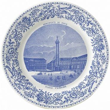 Тарелка для сладостей DE PARIS №3 1шт