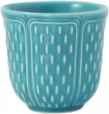 Чашки кофейные PETITS CHOUX turquoise 2шт