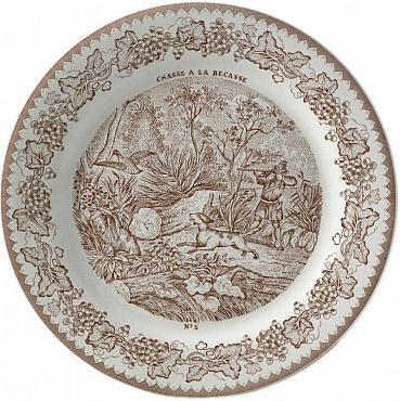 Тарелка для сладостей LA CHASSE №5 1шт