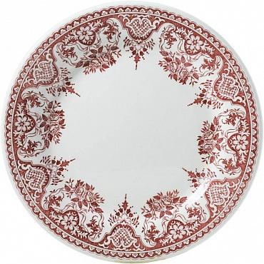 Тарелки десертные ROUEN FLEURI POUR NOËL красный 4шт