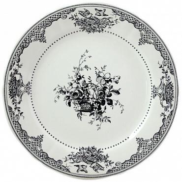 Тарелки десертные «Цветы» Les Dépareillées 6шт