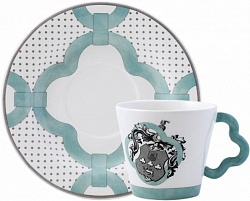 Чашка и блюдце ALLURE armoiries