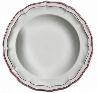 Тарелки для канапе FILET COULEUR розовый 4шт