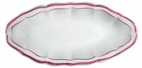 Блюдо для закусок FILET COULEUR розовый