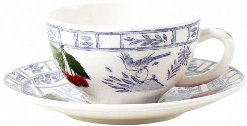 Чайная пара обеденная OISEAU BLEU – FRUITS. 2шт