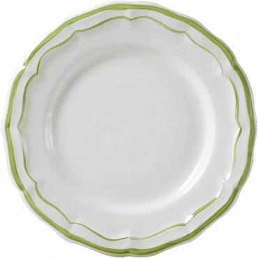 Тарелки для канапе FILET COULEUR зеленый 4шт