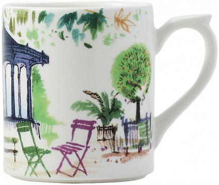 """Кружка """"Le jardin Parisien"""" JARDINS EXTRAORDINAIRES"""