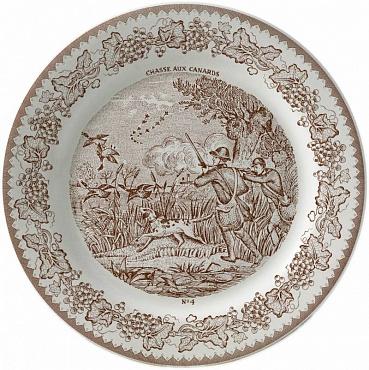 Тарелка для сладостей LA CHASSE №4 1шт