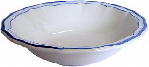 Тарелки для супа FILET COULEUR синий 4шт