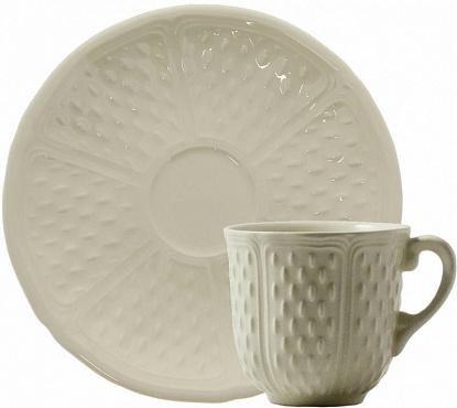 Кофейная пара PONT AUX CHOUX blanc 2шт