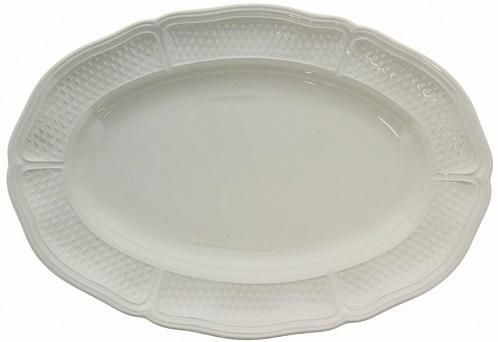 Блюдо овальное большое PONT AUX CHOUX blanc