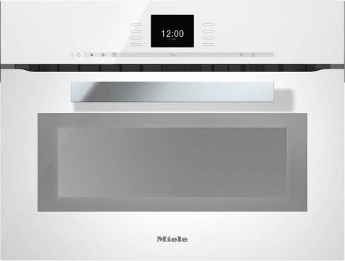 Духовой шкаф с СВЧ H6600BM BRWS бриллиантовый белый