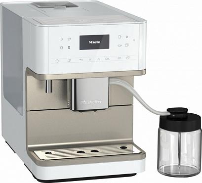 Кофемашина CM6360 белый металлик LOCM
