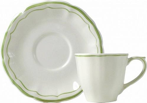 Чайная пара FILET COULEUR зеленый 2шт