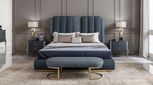 Кровать Blu e Grigio PR.60.2
