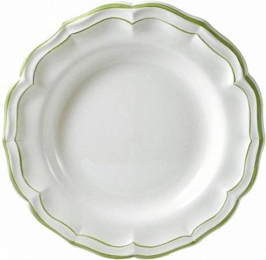 Блюдо круглое глубокое FILET COULEUR зеленый