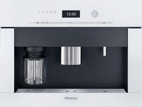 Кофемашина CVA6401 BRWS бриллиантовый белый