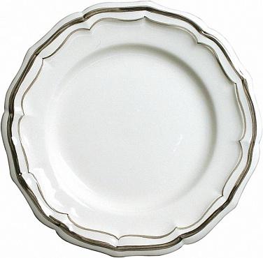 Тарелки для канапе FILET COULEUR коричневый 4шт