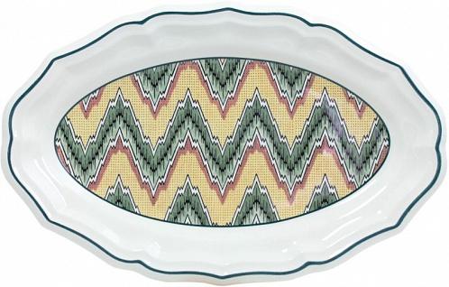 Блюдо овальное Dominoté