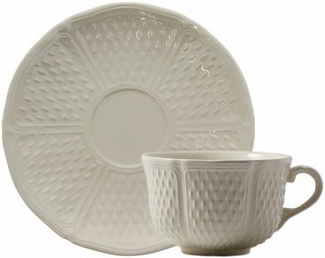 Чайная пара обеденная PONT AUX CHOUX blanc 2шт