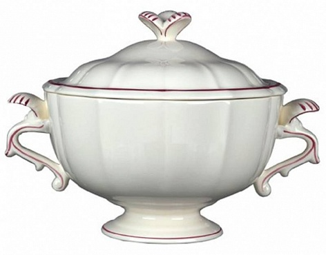 Супница FILET COULEUR розовый
