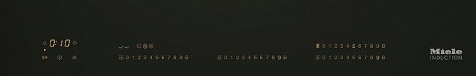 Панель конфорок KM6629 RU EDST сталь