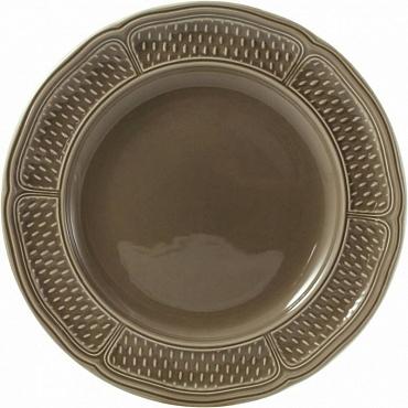Блюдо круглое плоское PONT AUX CHOUX taupe