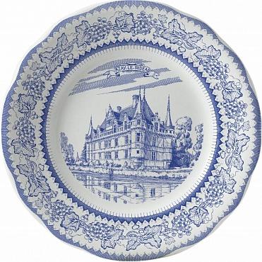 Тарелка десертная LES CHÂTEAUX DE LA LOIRE №2 1шт