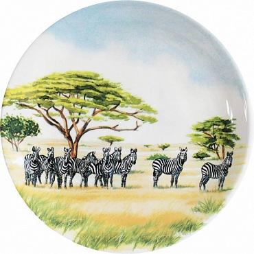Тарелки для канапе SAFARI 4шт