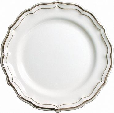 Тарелки десертные FILET COULEUR коричневый 4шт