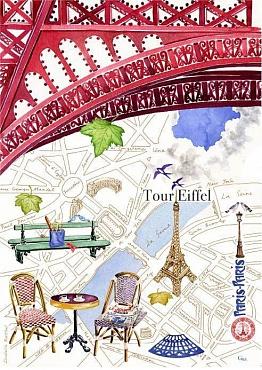 Полотенце PARIS.PARIS