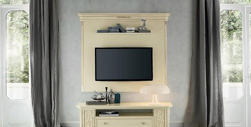 Подвесная панель под TV Tiffany