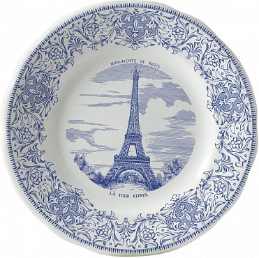 Тарелка десертная LES MONUMENTS DE PARIS №1 1шт