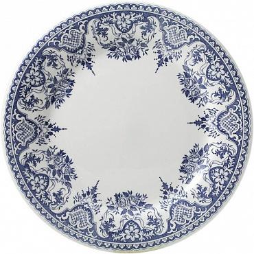 Тарелки десертные ROUEN FLEURI POUR NOËL синий 4шт