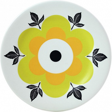 Тарелки десертные jaune Marguerite 6шт