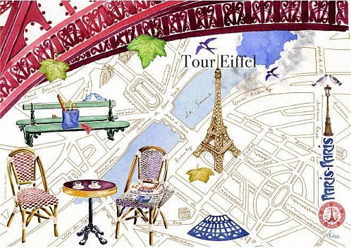Салфетка под приборы PARIS.PARIS