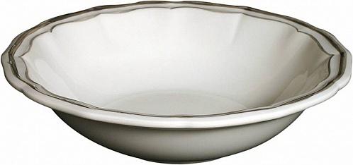 Тарелки для супа FILET COULEUR коричневый 4шт